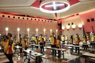 Delegación de Colombia en Tokio conmemoró el 20 de Julio en la Villa Olímpica